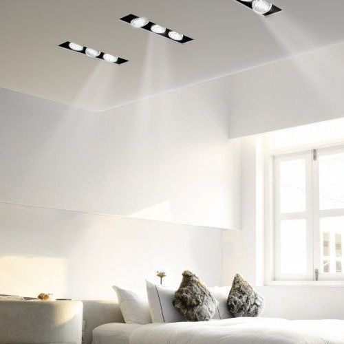 Modern Bedroom Recessed Lighting Ideas