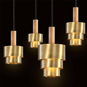 Modern Gold Mini Pendant Lights