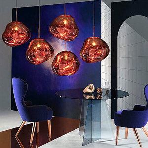 Modern Gold Pendant Lighting