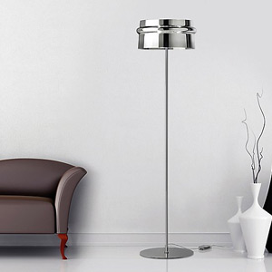 Modern & Contemporary Silver Floor Lamps