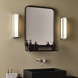 Modern & Contemporary Silver Vanity Lights