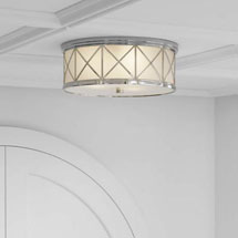 Visual Comfort Flush + Semi-Flush Mount Ceiling Lights