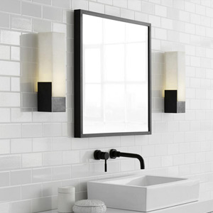 Bathroom lighting modern bathroom light fixtures ylighting bathroom led wall sconces mozeypictures Images