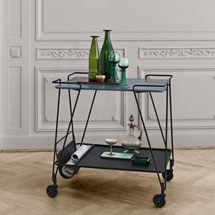 Dining Room + Kitchen Bar Carts + Trolleys