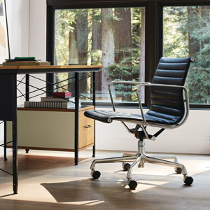Herman Miller Eames Aluminum Chairs