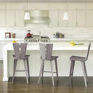 Designs for Small Spaces Bar + Counter Stools
