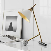 Visual Comfort Table + Desk Lamps