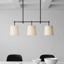 Visual Comfort Linear Suspension Lights