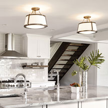 Hinkley Flush + Semi-Flush Mount Ceiling Lights