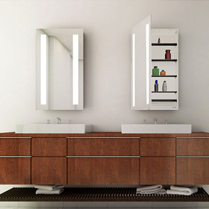 Bathroom Lighted Medicine Cabinets
