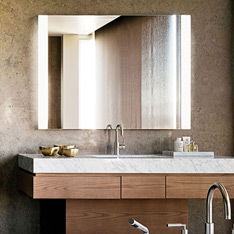 Wall Lights Lighted Bathroom Mirrors