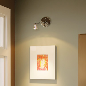 Wall Lights Display + Picture Lights