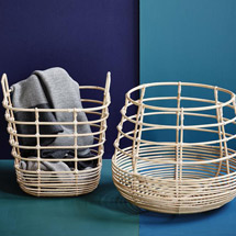 Home Accessories + Decor Modern Baskets + Bins
