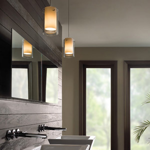 Bathroom lighting modern bathroom light fixtures ylighting bathroom pendant lights aloadofball Image collections
