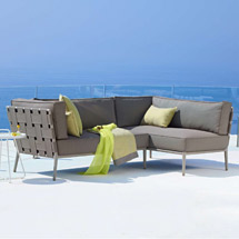 Outdoor Furniture Outdoor Sectionals + Modular Sofas