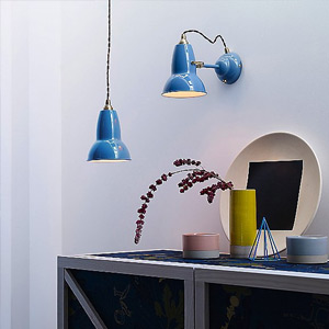 Shop by Color Blue Light Fixtures