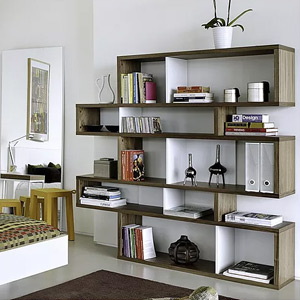 Office Bookcases + Wall Shelves