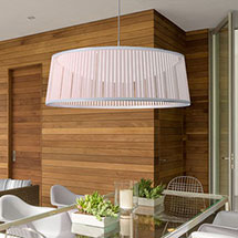 Pendants Drum Shade Pendant Lights