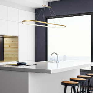 Gold Linear Suspension