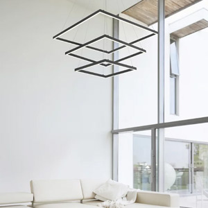Square LED Chandeliers