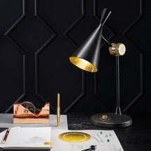 Tom Dixon Floor + Table Lamps